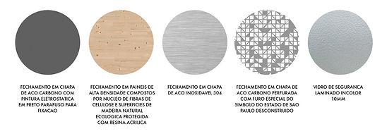 Manga Arquitetura_Mobiliário Urbano Materialidades