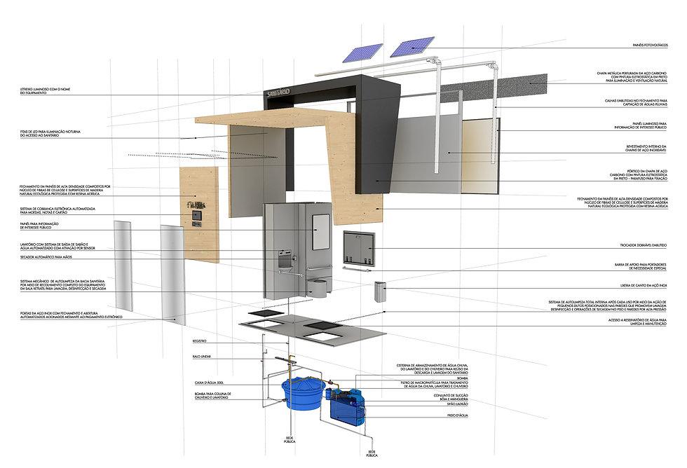 Manga Arquitetura_Mobiliário Urbano Sanitário