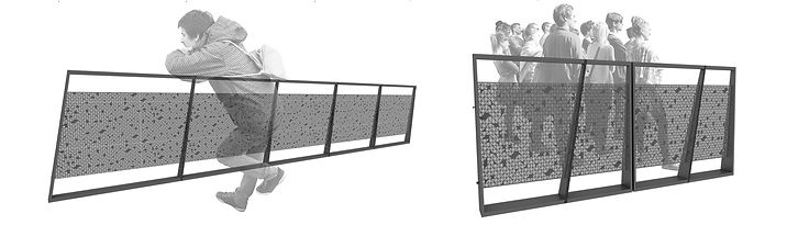 Manga Arquitetura_Mobiliário Urbano Guarda Corpo
