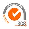 COSMINA มาตรฐานรองรับ SGS ISO 22716