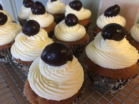 Black Cherry Cupcakes.
