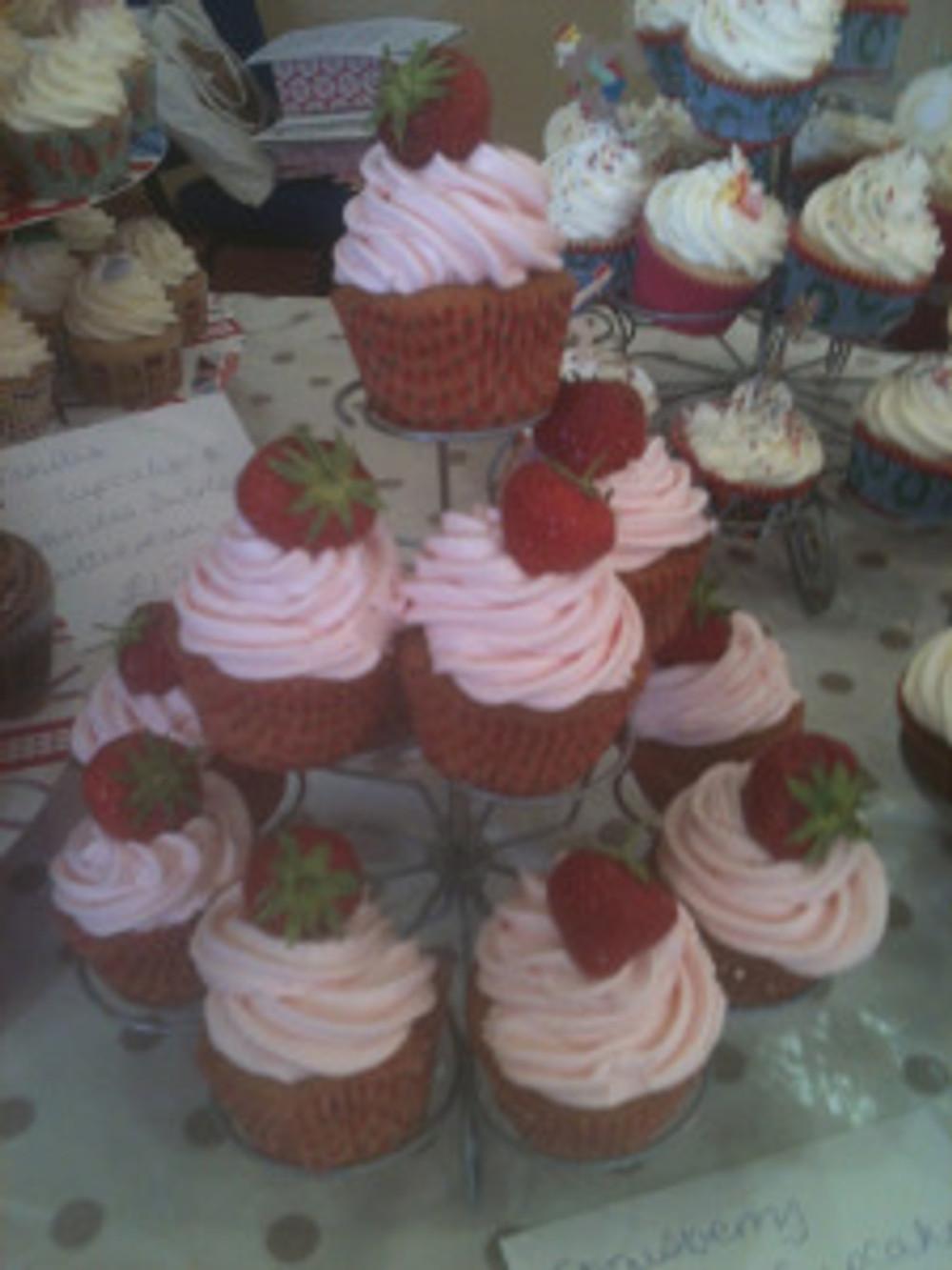 The Primrose Bakery's Strawberry Cupcakes