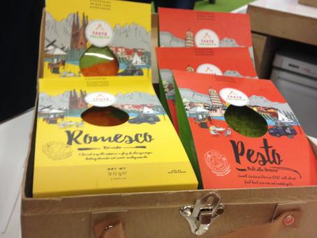 TasteCollectiv- Fresh Romesco and Pesto Sauces.