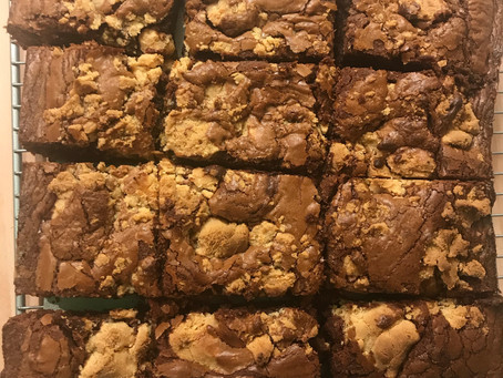 Chocolate and Salted Caramel Brownies: Amazing Cakes #18