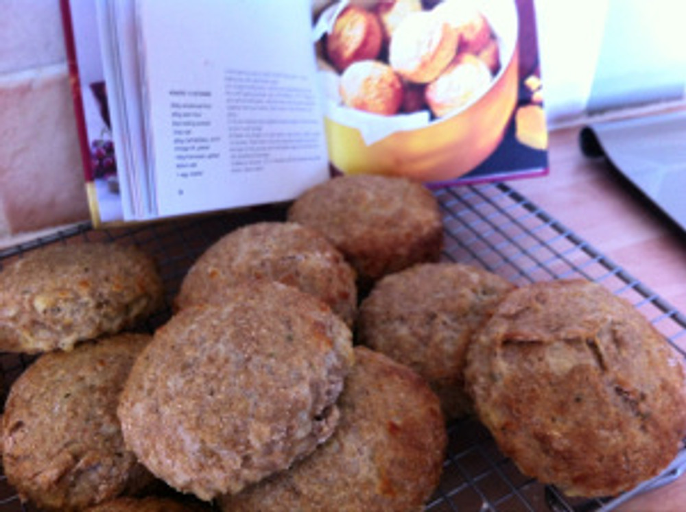 Cheese Scones using Cathedral City cheddar from the Cathedral City Cheddar Best Loved Recipes book