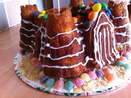 Mango Sandcastle Bundt Cake