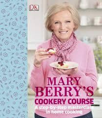 The front cover of Mary Berry's Cookery Course. Pic courtesy of Google Images.