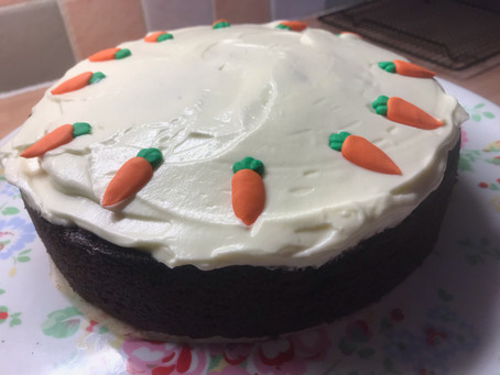 Amazing Cakes #4: Carrot and Apple Cake
