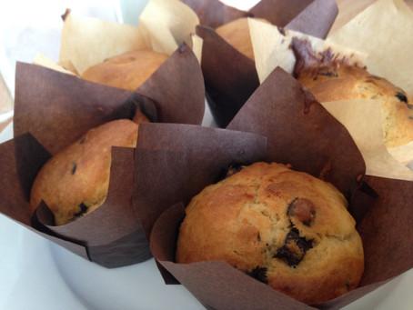 Chocolate Orange Yoghurt Muffins.