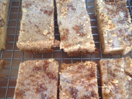 Stem Ginger Shortbread #GBBOtwitterbakealong