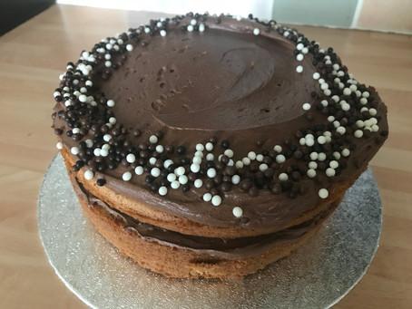 Chocolate Mocha Latte Cake