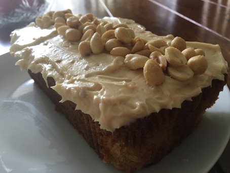 Banana and Peanut Butter Loaf.