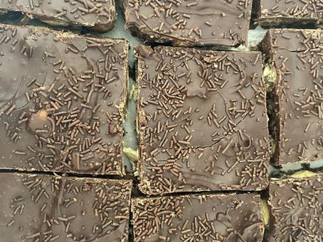 Chocolate Orange Tiffin (AKA Terry's Tiffin)