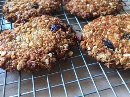 #BakeWithStork: Vegan Oat and Cranberry Cookies