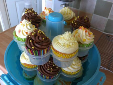 Cupcakes Three Ways with Dr Oetker Premium Sprinkles.