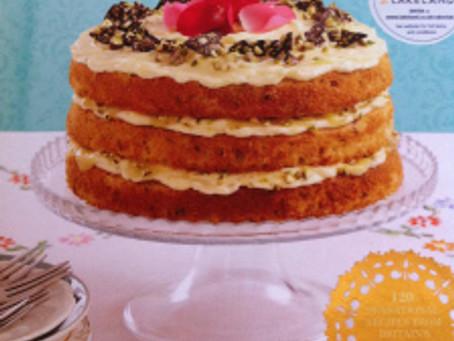 Lemony Lemonade Cake from the Clandestine Cake Club Cookbook