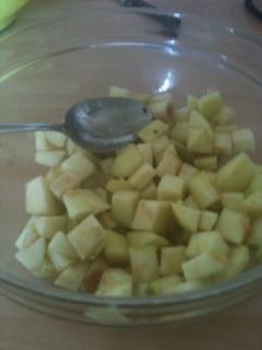 Sticky Maple Apple Traybake