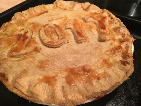 Our New Years' Day Tradition- Steak and Mushroom Pie.