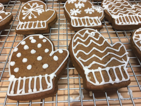The Great British Bake Off Christmas- Lebkuchen Cookies.