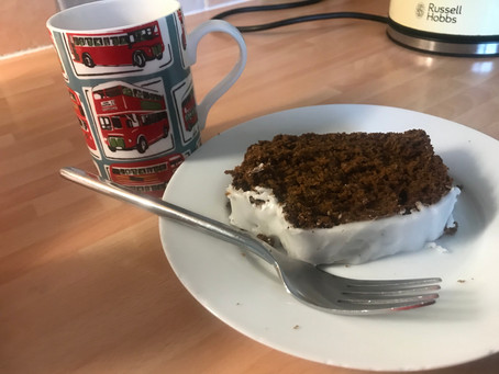 Amazing Cakes #8: Iced Gingerbread Loaf
