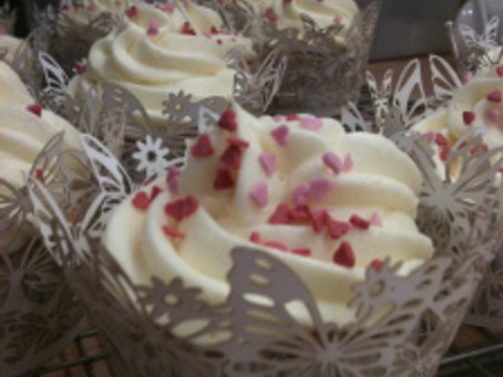 Sam's Smart Cookies- Valentine's Day Cupcakes and Small Bakes