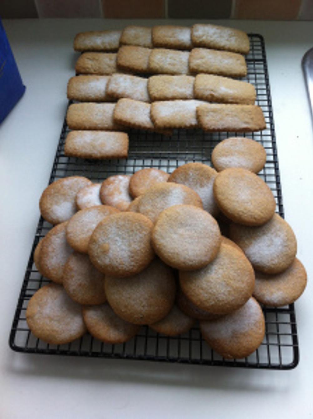I enjoyed my baking session using the Speculaas Spice miz.