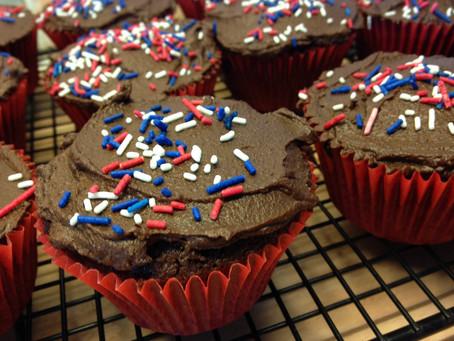 Very Easy Double Chocolate Cupcakes.