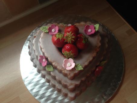 Strawberri Daiquiri Bundt Cake
