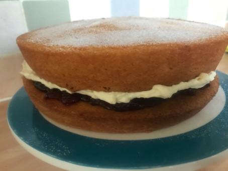Amazing Cakes #7: Victoria Sponge