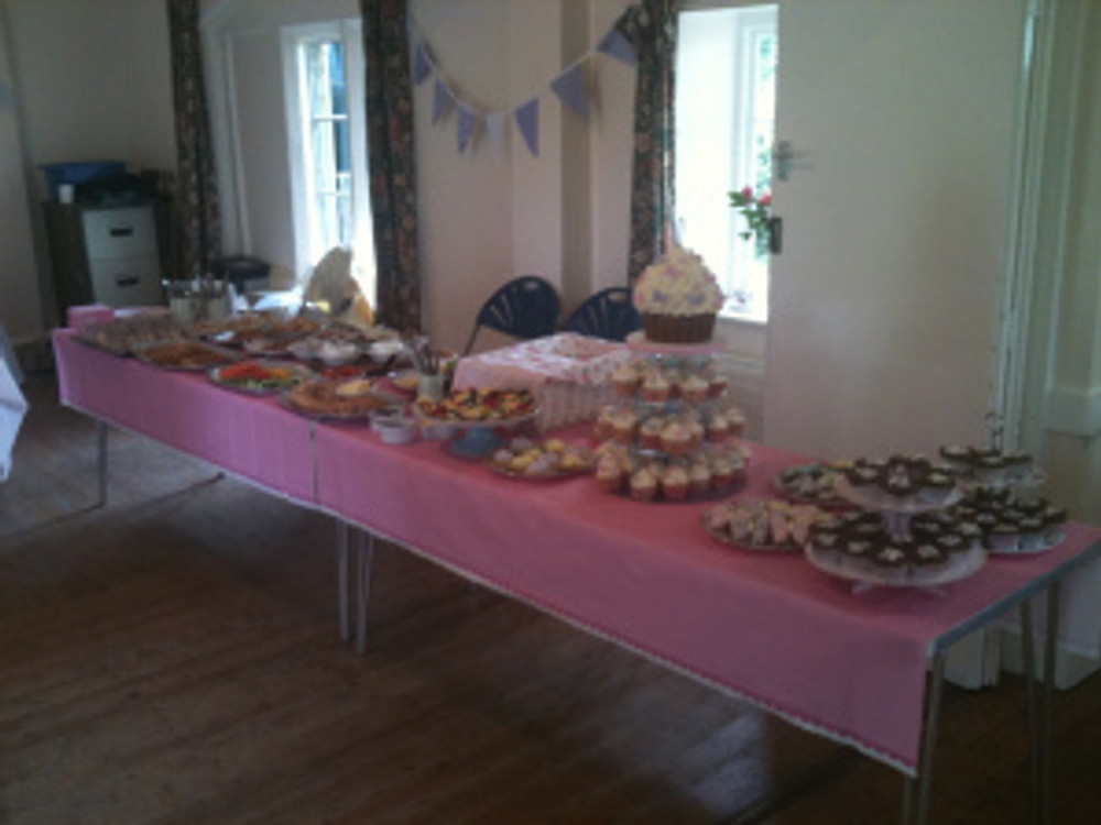 The food table at my 40th birthday party.