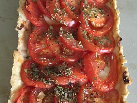 Tomato Provençale Tart.