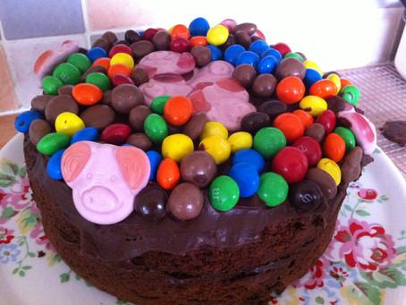 My Favourite Treats Chocolate Birthday Cake