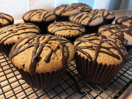 Marbled Mocha Muffins #MuffinMonday