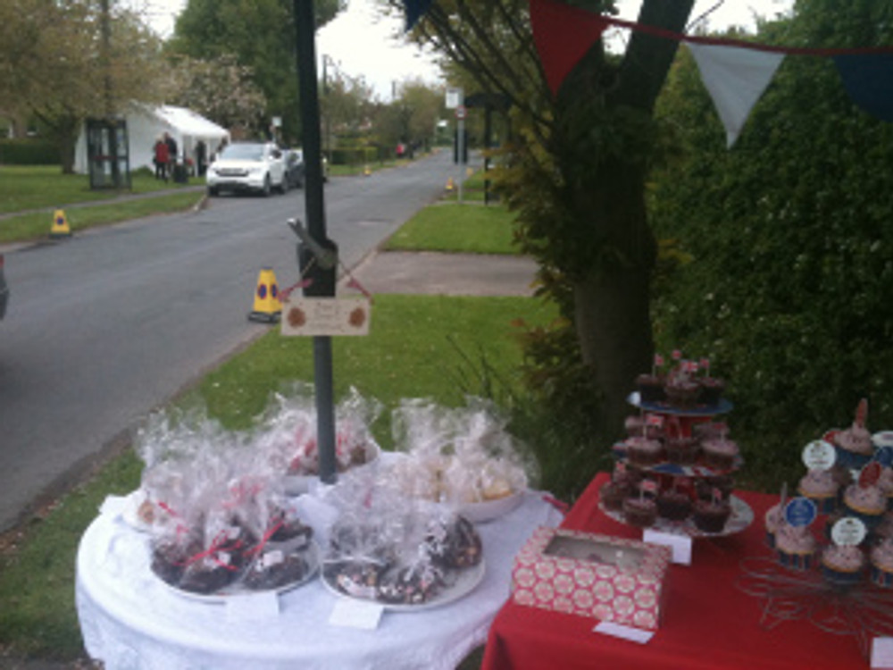 Bags of shortbread, brownies, rocky road and flapjack.