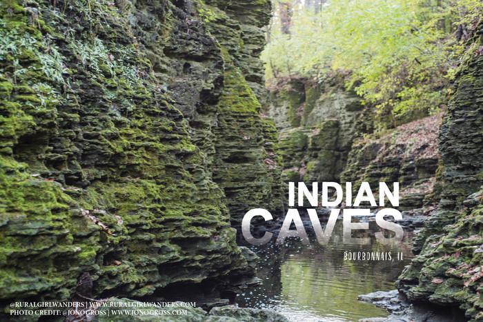 A HIDDEN GEM: INDIAN CAVES IN BOURBONNAIS, IL