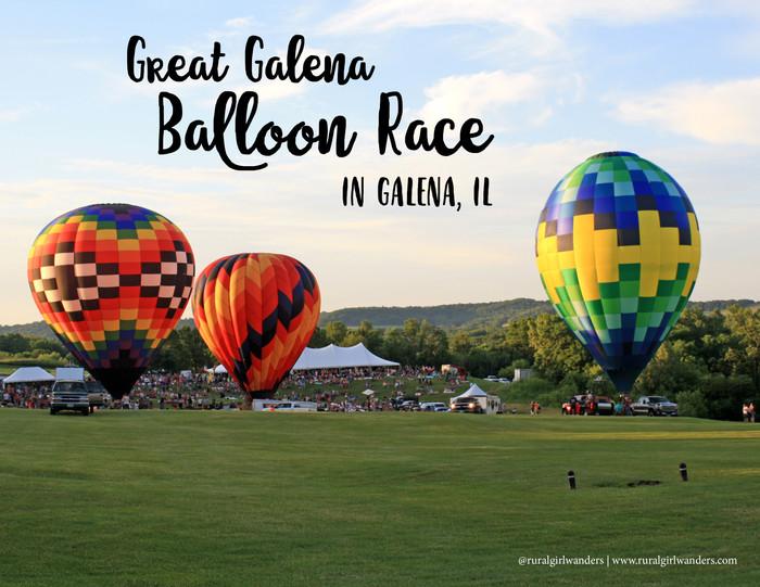 BUCKET LIST WORTHY: GREAT GALENA BALLOON RACE