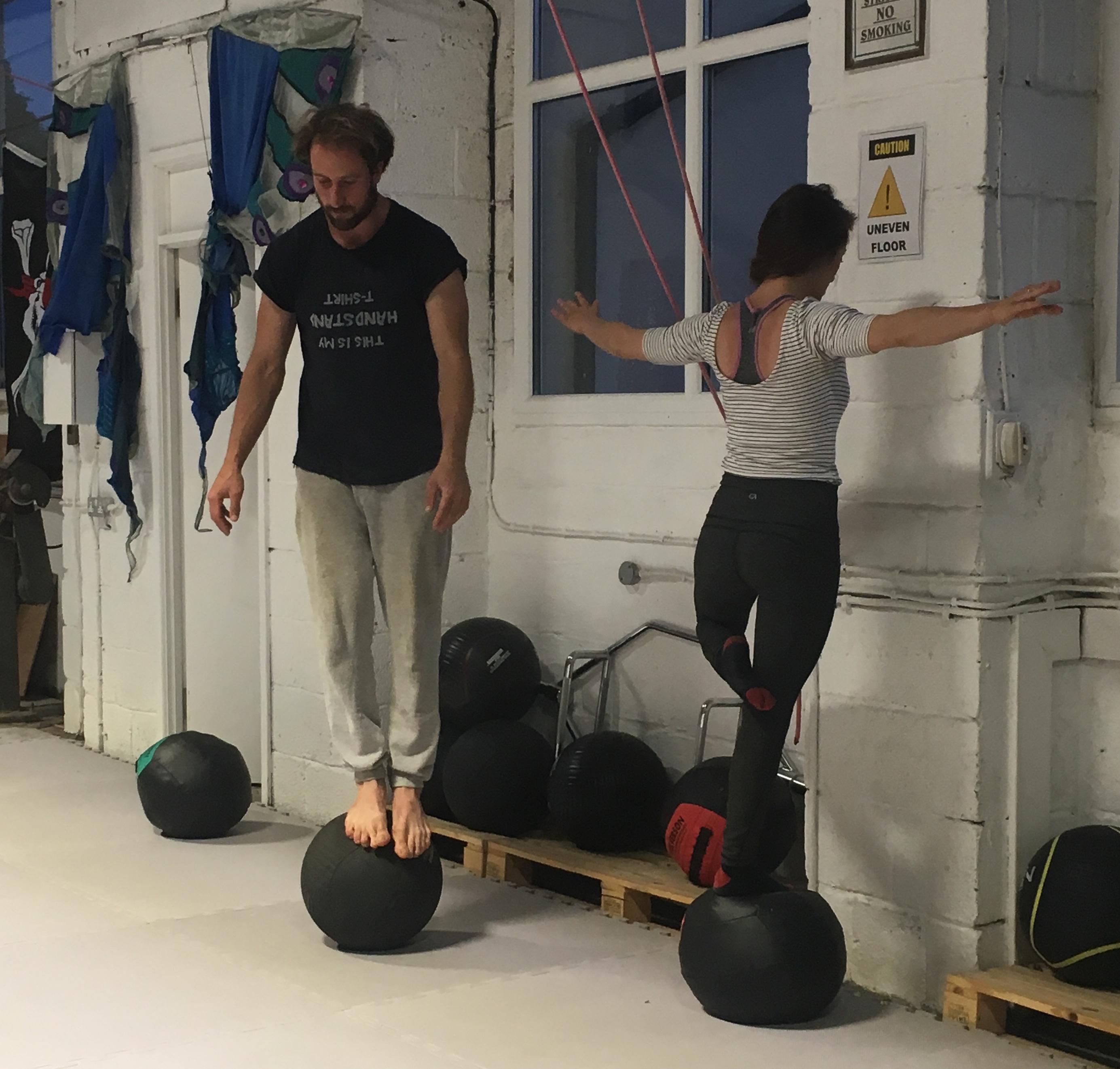 Partner Acrobatics Classes