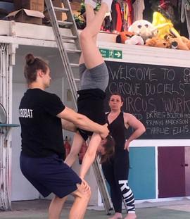 Partner Acrobatics and Balance