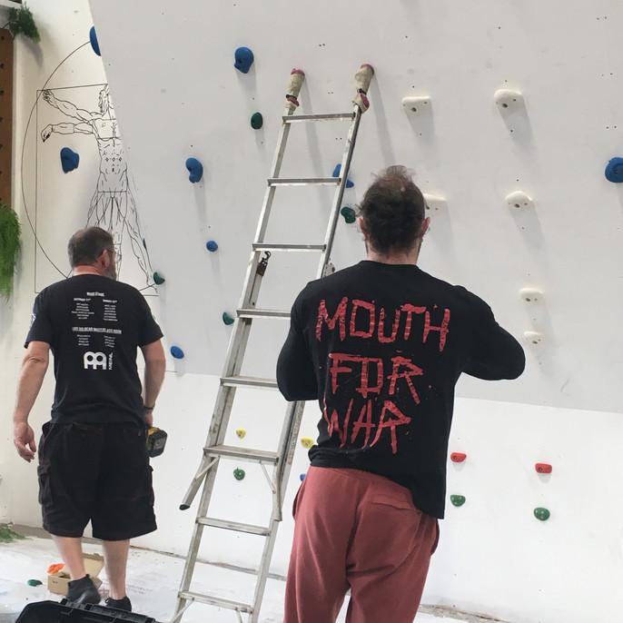 Climbing Wall, Cornwall