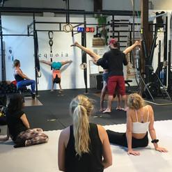 Handstand Class, Cornwall