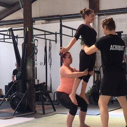 Partner Acro Classes Cornwall