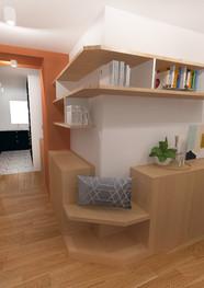Appartement Rue Compan Paris 19