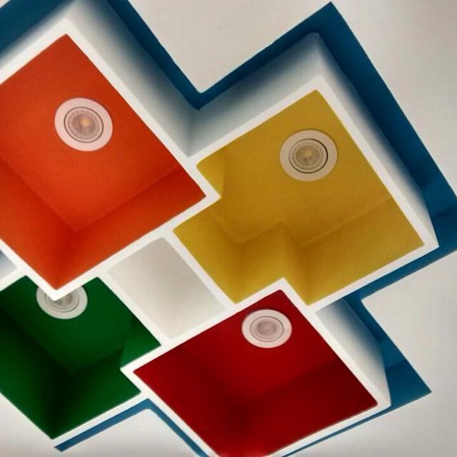 Criação em gesso com cores uma ótima opç