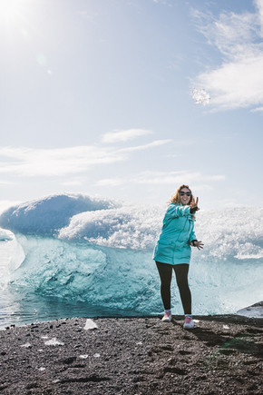 Black Diamond Beach with Hidden Iceland