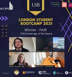 London Student Bootcamp 2021