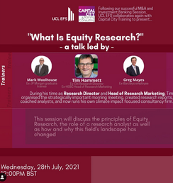 Mentorship Presents: What is Equity Research?