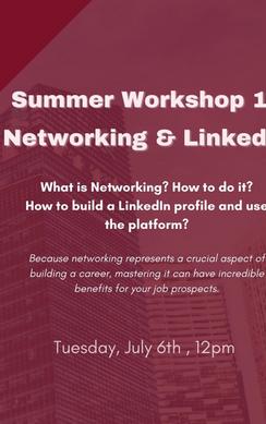 Mentorship Presents: Summer Workshop 1