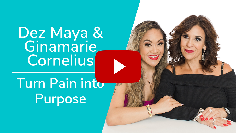 Interview with Dez Maya & Ginamarie Cornelius of Blissful Fortitude - Courageous Worth Podcast