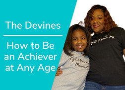 How to Be an Achiever at Any Age