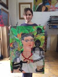 Frida Kahlo - Mixed Media